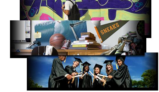 Website for Sneaker Academy, built on Wordpress CMS