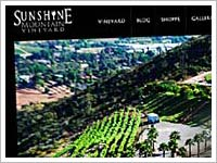 View our recent wordpress design work for Sunshine Mountain Vineyard.