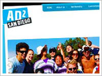 View our recent wordpress design work for Ad2 San Diego.