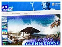 View our recent wordpress design work for Glenn Chase Artworks.