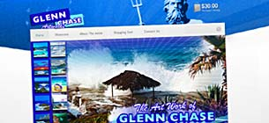 WordPress Design Glenn Chase Artworks