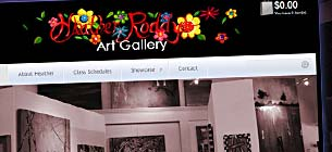 WordPress Design for Heather Roddy Gallery