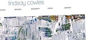 WordPress Design for Lindsay Cowles, Fine Artist.