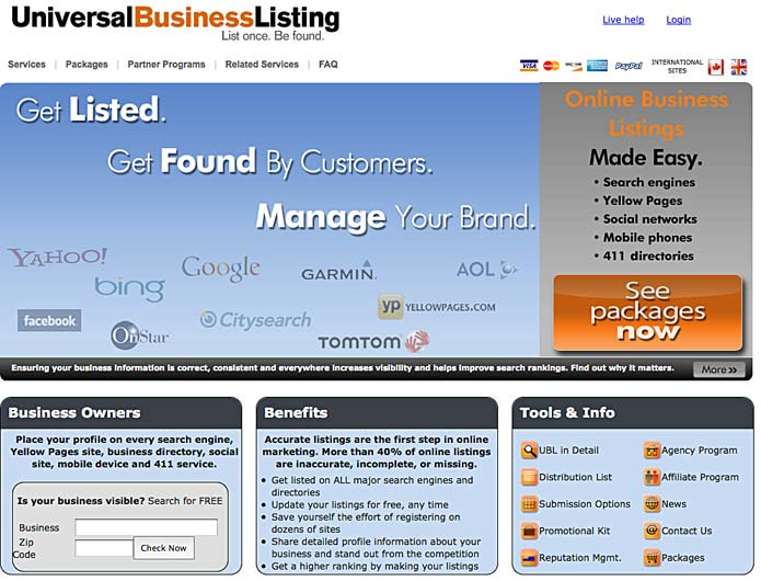 Use automated listings to propel your internet profiles.