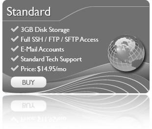 Standard Web Hosting Package